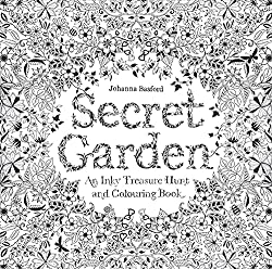 The Cover Of Secret Garden Is Lovely With Metallic Gold Accents It Removable And Ready To Color Reveals Another Huge Intricate Drawing Flowers