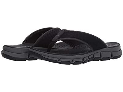 SKECHERS Ridgewell Sandgo (Black) Men