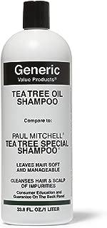 GVP Tea Tree Oil Shampoo - Compare to Paul Mitchell Tea Tree Special Shampoo, 33.8oz