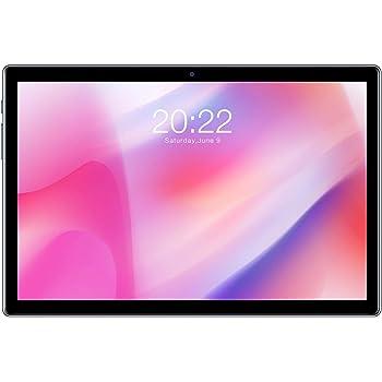 TECLAST P20HD Tablet de 10.1 Pulgadas Android 10 4GB RAM+64GB ROM FullHD 1920 x 1200 Octa-Core 1.6 GHz, 4G Dobles SIM/TF, GPS+Type-C+WiFi+Cellular+Bluetooth 4.2, 2+3 MP Cámara, 6000mAh Batería, Negro
