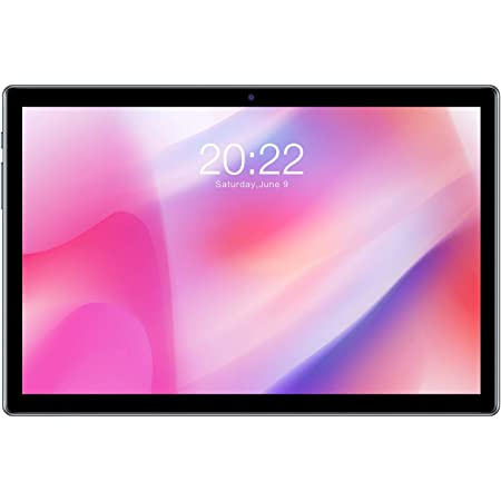TECLAST P20HD Tablet de 10.1 Pulgadas Android 10 4GB RAM+64GB ROM FullHD 1920 x 1200 Octa-Core 1.6 GHz, 4G Dobles SIM/TF, GPS+Type-C+WiFi+Cellular+Bluetooth 4.2, 2+3 MP Cámara, 6000mAh Batería, Negro