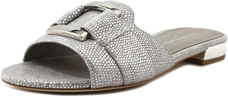 Donald J. Pliner Womens Falta Open Toe Flats Slide Sandals