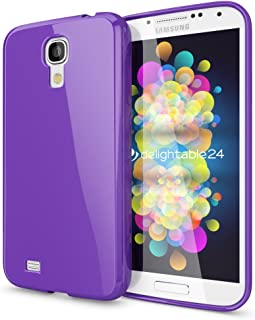 9d613dc5a1a NALIA Funda Carcasa Compatible con Samsung Galaxy S4, Protectora Movil  Silicona Ultra-Fina Gel