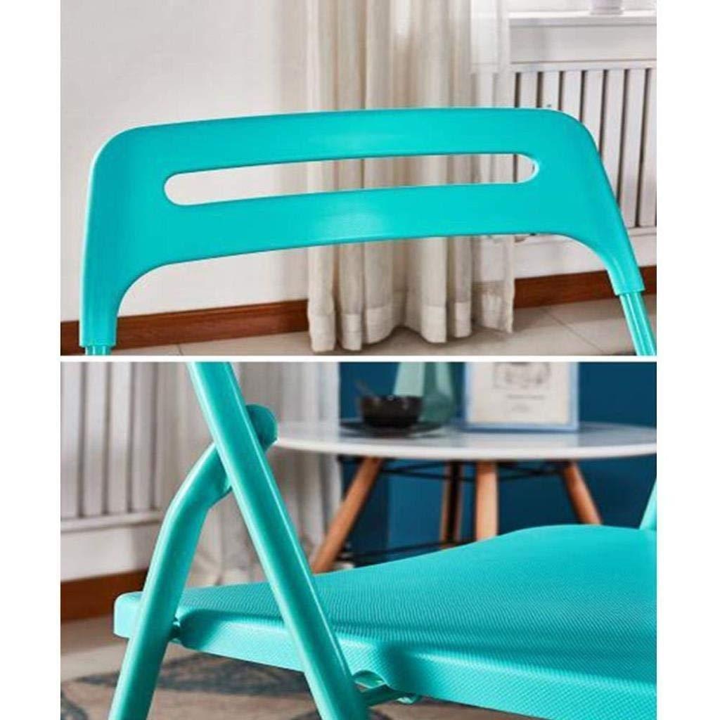 LYZZDY Yxsd Taburetes, sillas Plegables Plegable Sin Respaldo Plástico ABS Ultraligero Jardín Balcón al Aire Libre Terraza Cocina Duradero Fuerte (Color : Tiffany Blue): Amazon.es: Hogar