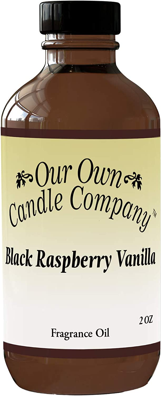 Our Own Candle Company Fragrance 2 Vanilla Black Raspberry Oil Max 47% Regular discount OFF