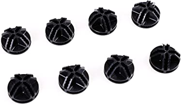 BASTUO Wire Cube Plastic Connectors for Storage Cabinet and Shelf, Set of 8, Black