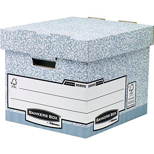 Bankers Box Parent Aufbewahrungssystem (Robust, 335 x 285 x 390mm) 10 Stück grau
