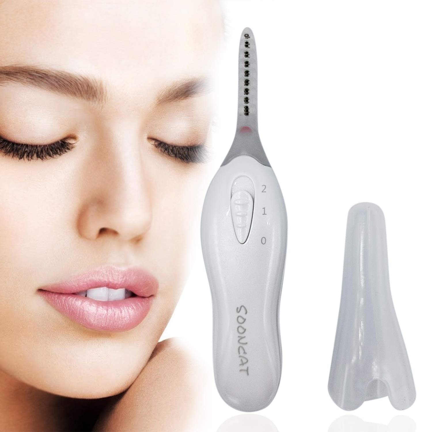 Electric Eyelash Curler 5 popular SoonCat Mail order cheap Cur Heated Professional