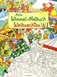 Mein Wimmel-Malbuch – Weihnachten