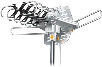 Tree New Bee Amplified HD Digital Outdoor HDTV Antenna 150 Miles Long Range with Motorized 360 Degree Rotation, UHF/V...