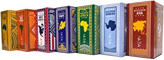 World Card Series Set - Geography Playing Card Game - Education, Travel, Adventure for Kids, Adults, Family