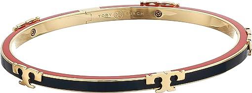 Tory Gold/Tory Navy/Poppy Red