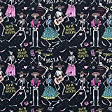 Fabulous Fabrics Baumwollpopeline Halloween Stoff