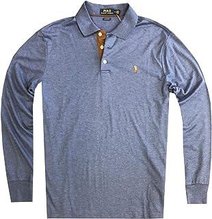 a1c0b422a022 Polo Ralph Lauren Mens Classic Fit Soft Cotton Interlock Polo Shirt