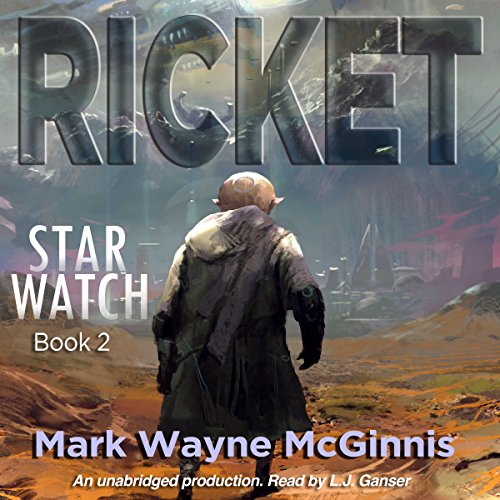 Ricket audiobook cover art