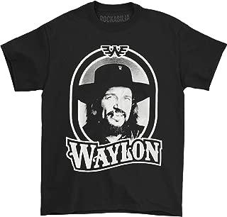 Waylon Jennings Men's Tour 79 Black T-Shirt Black