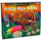 KnickLichterDE Party-Box XXXL - Set de accesorios luminosos para fiestas