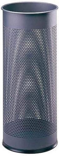 Durable 335058 Porte-Parapluies Avec Perforations 28,5 litres Hauteur 62 cm en Métal Coloris Anthracite