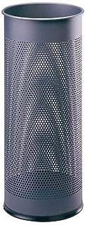 Durable 335058 Paraplubakje metaal rond 28,5 Liter, antraciet, met een lange levensduur.