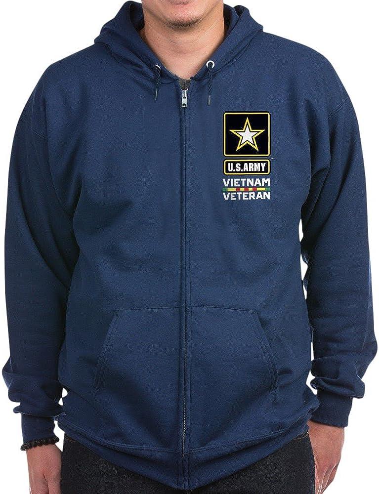 CafePress Fixed price for sale U.S. Army Vietnam Ranking TOP12 Hoodie Veteran Zip