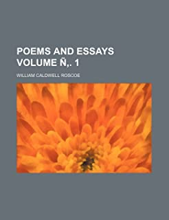 Poems and Essays Volume N . 1