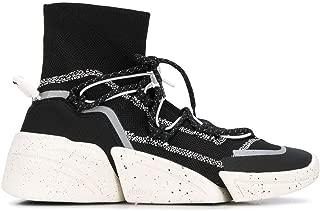 KENZO Luxury Fashion Womens F962SN450F6599 Black Hi Top Sneakers | Fall Winter 19