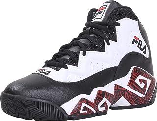 Fila Men's MB Sneakers High Top Black/White/Red