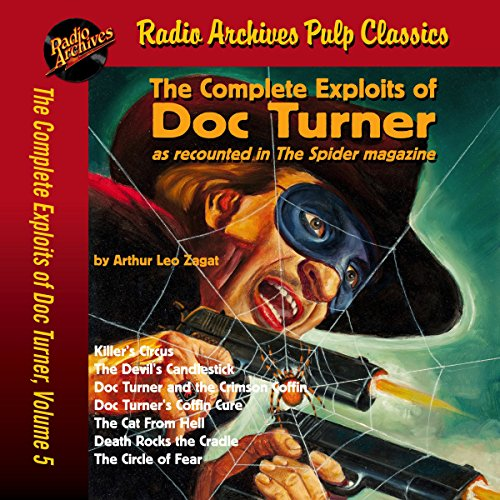 Couverture de The Complete Exploits of Doc Turner, Volume 5