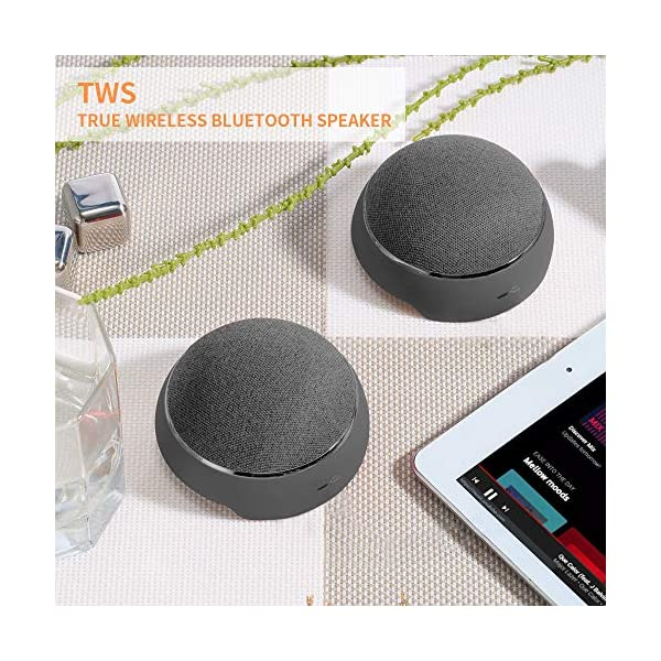 Bluetooth Speakers with 3 Colors Portable Wireless Speaker 4
