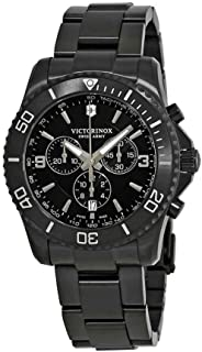 Victorinox Maverick Black Dial Stainless Steel Men's Watch 241797