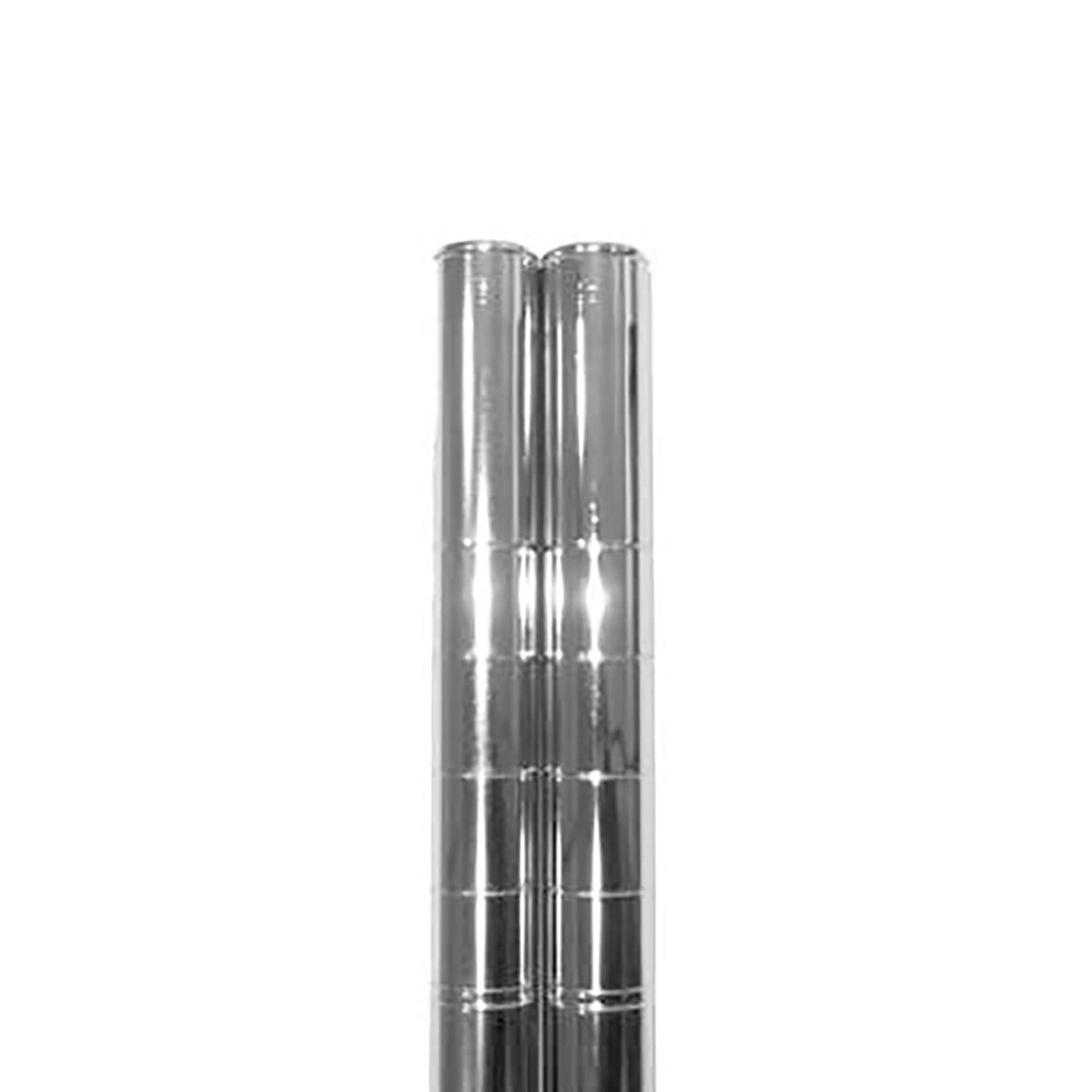 Seville Classics Ultradurable Commercial Grade Steel Shelving Poles 72 H X 1 Diameter Chrome Set Of 2 Amazon Ae