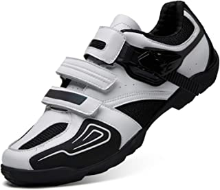 Gogodoing Cycling Shoes Mens Womens Indoor Bike Shoes no Cleats Wearresistant Comfortable with Fast Rotating Shoelace System