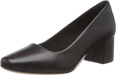 TALLA 37 EU. Clarks Sheer Rose, Zapatos de Tacón Mujer