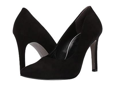 Paul Green Venus Heel (Black Suede) High Heels