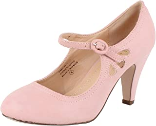 Chase & Chloe Womens Kimmy-21 Coral