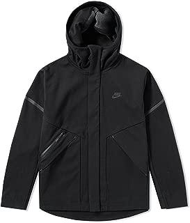 Sportswear Tech Fleece Repel Windrunner Jacket Men Black Heather 867658-010 (Small)