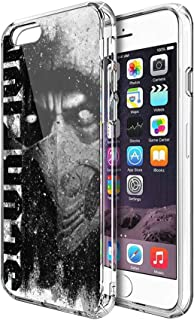 Case Phone Anti-Scratch Motion Picture Cases Cover A Character from Mortal Kombat Games and Movies Series Action Movies (4.7-inch Diagonal Compatible with iPhone 6, iPhone 6s)