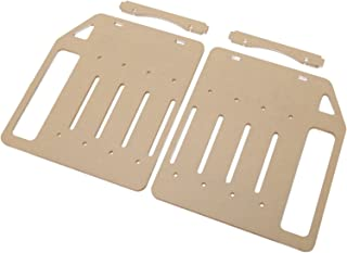 Homyl 3.5inch Transparent Hard Drive Bracket Hard Disk Shelf Organizer Box Hard Disk Cage Accessories for HDD SSD Mechanic...
