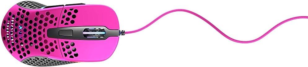 XTRFY M4 RGB Ultra-Light Gaming Mouse Pink.