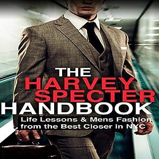 The Harvey Specter Handbook audiobook cover art