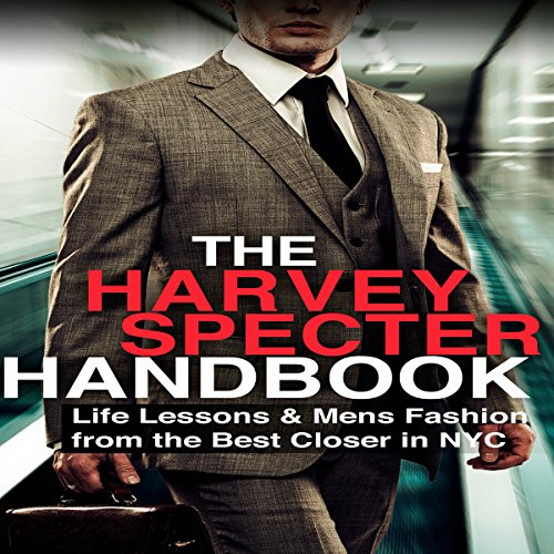 The Harvey Specter Handbook audiobook cover art