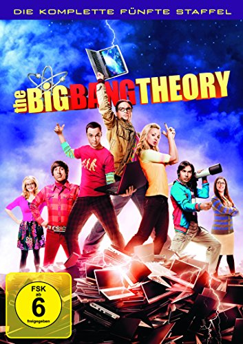 Cover The Big Bang Theory - Die komplette fünfte Staffel [3 DVDs]