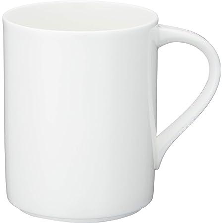 NARUMI(ナルミ) マグカップ スタイルズ(Styles) ホワイト 370cc 電子レンジ温め 食洗機対応 50481-2633