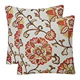 YUKORE Pack of 2 Simpledecor Throw Pillow Covers...