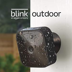 Blink Outdoor: draadloze, weerbestendige HD beveiligingscamera met bewegingsdetectie waarvan de batterijen twee jaar meegaan | Add-on-camera voor bestaande Blink-klanten