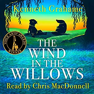 The Wind in the Willows audiobook cover art