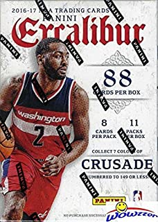 Best panini excalibur basketball cards Reviews