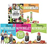 Simple green smoothies, blender recipe book, lean body abs workout, 7 day cleanse and nutribullet recipe book 5 books collection set