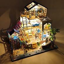 Kärlek Sea Villa DIY Handgjorda husplan dekoration gåva
