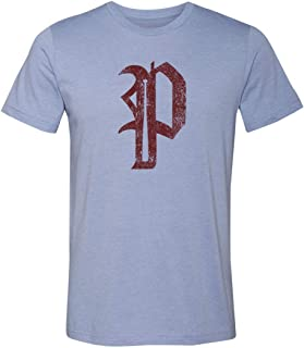 36 and Oh! Philadelphia P Baseball Shirt Mens Philly Vintage Distressed